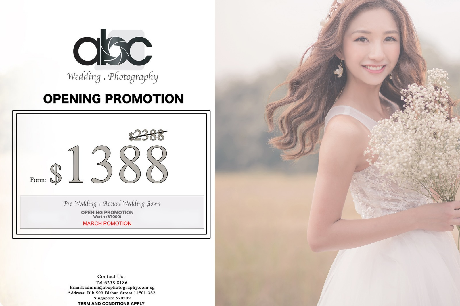 Wedding Photography Promotion